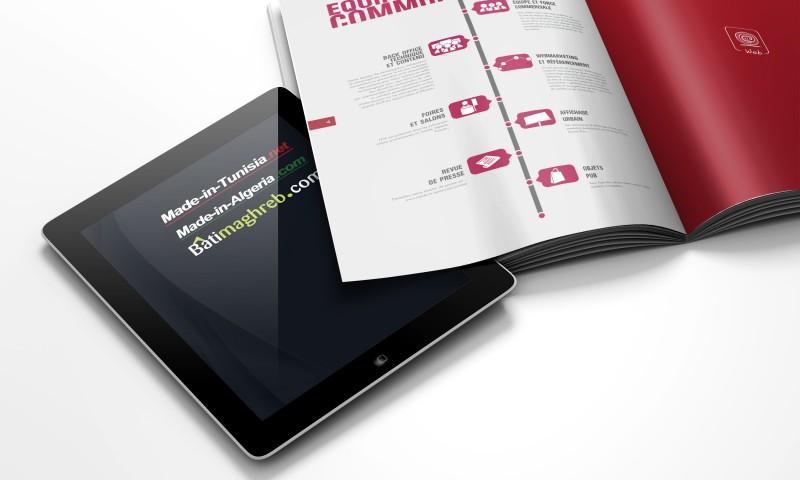 communication et tablette